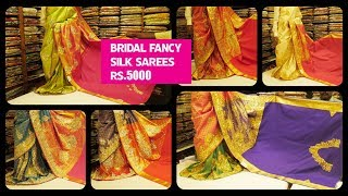T.Nagar Bridal Fancy Sarees With Price | #SummerCollection | Sri Kumaran Stores