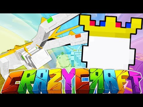 THE HALL OF ACHIEVEMENTS!? - MINECRAFT'S OLDEST MOD PACK CRAZY CRAFT SURVIVAL #6 | JeromeASF