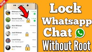 Now Lock WhatsApp Chat only | WhatsApp Tricks 2017
