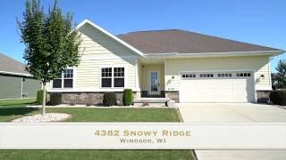 4382 Snowy Ridge Trail, Windsor, WI 53598