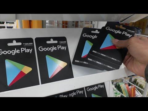 Borong Kartu Google Play 1,5 Juta + Giveaway #vlog di indomaret