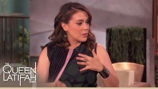 Alyssa Milano Talks Baby Talk | The Queen Latifah Show