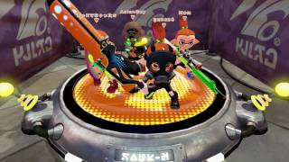 Splatoon - And a Player Dropped Out and We Still Won!!! [Turf Wars] - Wii U Gameplay
