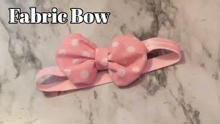 DIY Fabric Hairbow!