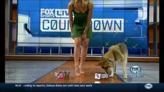A Blonde and Her Dog (Charissa Thompson & Molly McGrath)