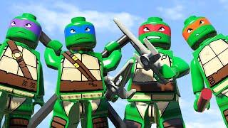 ЧЕРЕПАШКИ-НИНДЗЯ в LEGO Marvel Super Heroes