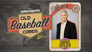 Dodgers second baseman Chase Utley opens 25-year-old baseball cards