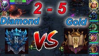 Hon | Diamond 2คน vs Gold 5 คน ไหวไหม!?