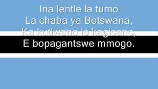 Hymne national du Botswana