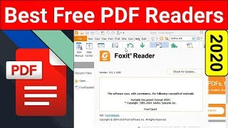 Top 5 Best Free PDF Readers 2020