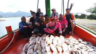 ตกปลาอังเกย ซากเรือจม กลางทะเลลึก