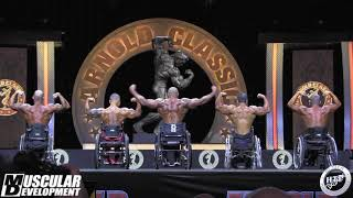 2019 ARNOLD CLASSIC - WHEELCHAIR  - COMPARISONS & AWARDS