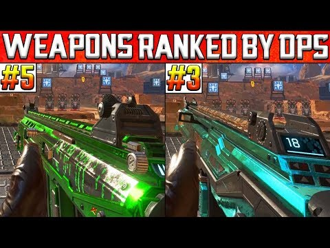Apex Legends Weapons Ranked by Damage Per Second