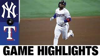 Aspectos destacados del juego Yankees vs. Rangers (17/05/21) | Aspectos destacados de MLB