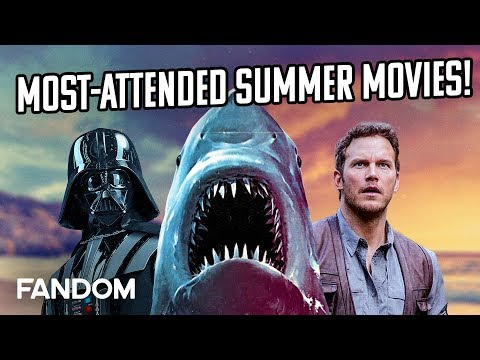 10 Most Popular Summer Movies Ever   Charting with Dan!