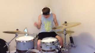 caves///chiodos///drum cover