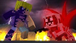 Minecraft: SUPER HEROES PVP #21 - NARUTO VS MELIODAS ‹ Ine ›