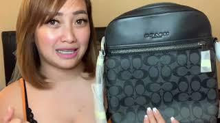 Coach Houston Flight Bag VS Michael Kors Cooper Flight Bag