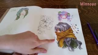 [ Minnoao ] Sketchbook Update March 2017