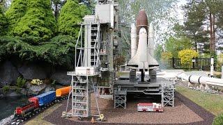 LEGOLAND Billund: LEGO NASA Space Shuttle - Miniland