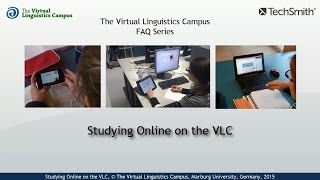 Studying Online on the VLC