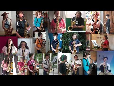 Vidéo - Miserlou - par la classe de saxophone