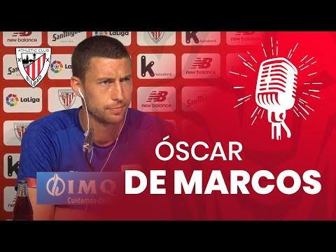 🎙️ Oscar de Marcos | Prentsaurrekoa