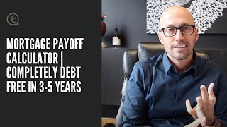 Mortgage Payoff Calculator | Completely debt free in 3-5 years | Adam Carroll