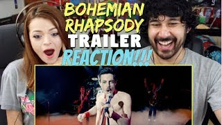 BOHEMIAN RHAPSODY | Official TRAILER - REACTION!!!