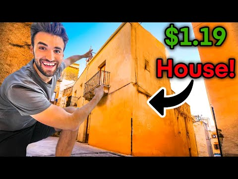 BUYING WORLD'S CHEAPEST HOUSE (Only $1.19)!