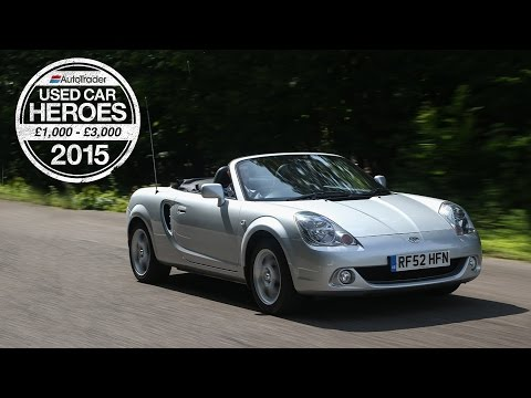 Used Car Heroes: £1,000 - £3,000 - Toyota MR2