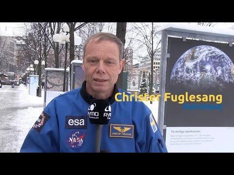 Christer Fuglesang rapporterar från rymdutställningen