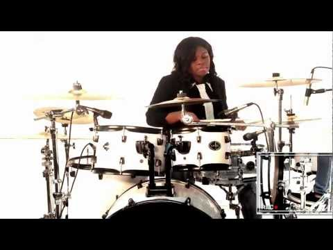 "James Fortune & FIYA Never Again (Drum Cover) Effective Drumming  ""How to play drums"""