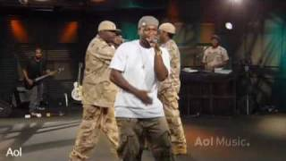 50 cent get up AOL Sessions