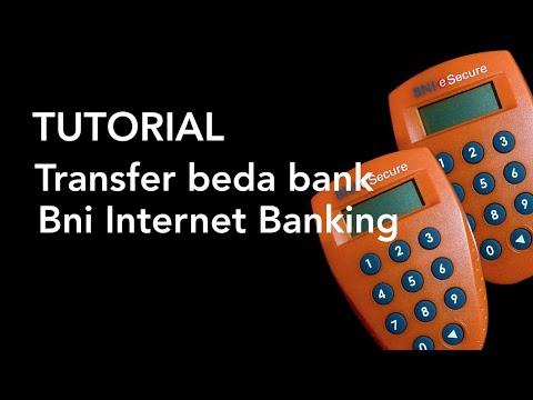 BNI Internet Banking - Transfer Bni ke Bank Lain atau Beda Bank