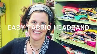Simple Stylish Headband Sewing Tutorial
