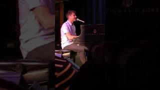 Jon McLaughlin - For You From Me - #IndianaTour2017 Boston MA