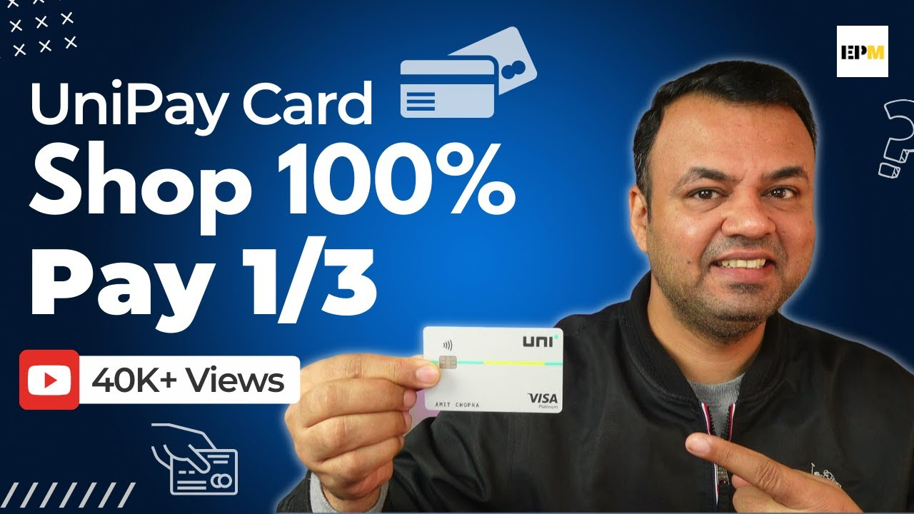 UNI Pay 1/3rd Card Includes|Uni Charge Card Evaluation Uni Card Advantages|Life Time Free Charge Card thumbnail