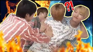 [UNB] The members were dramatically fighting against each other (Careful of heated arguments!)