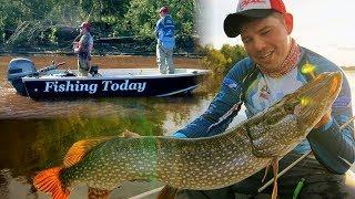 Рыболовные приключения с программой Fishing Today 3 серия.
