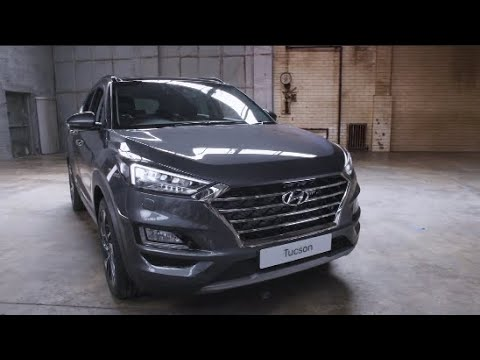 THE Hyundai Tucson- Technology With Jake Humphrey
