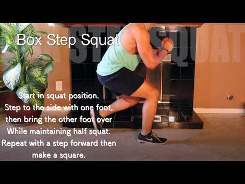 Box Step Squat