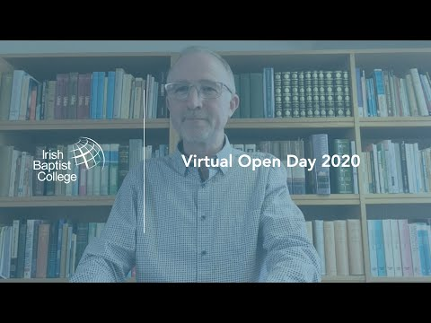 IBC Video: Virtual Open Day // Edwin Ewart - Tutor