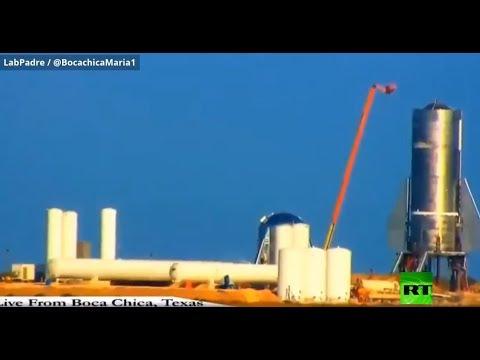 العرب اليوم - شاهد: لحظة انفجار صاروخ لـ سبيس إكس الأميركية
