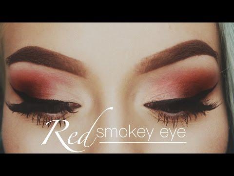 Red Smokey Eye Makeup Tutorial | Naomi