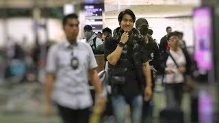 Jerry Yan 言承旭隔13年再访新 粉丝接机情绪激动!Jerry Yan returns to Singapore after 13 years!