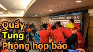 Thử Thách Bóng Đá tiễn Quang Hải Công Phượng Đặng Văn Lâm sau khi ĐT Việt Nam vô địch AFF CUP 2018