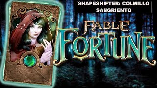 [Fable fortune] Shapeshifter mazo colmillo sangriento control de heridas divertidisimo