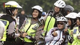 Polisi Bersama Masyarakat Peringati Hari Lalu Lintas Bhayangkara Ke 62