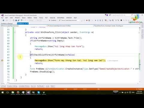 VD01 - Cách Tạo Object Từ Tên Class